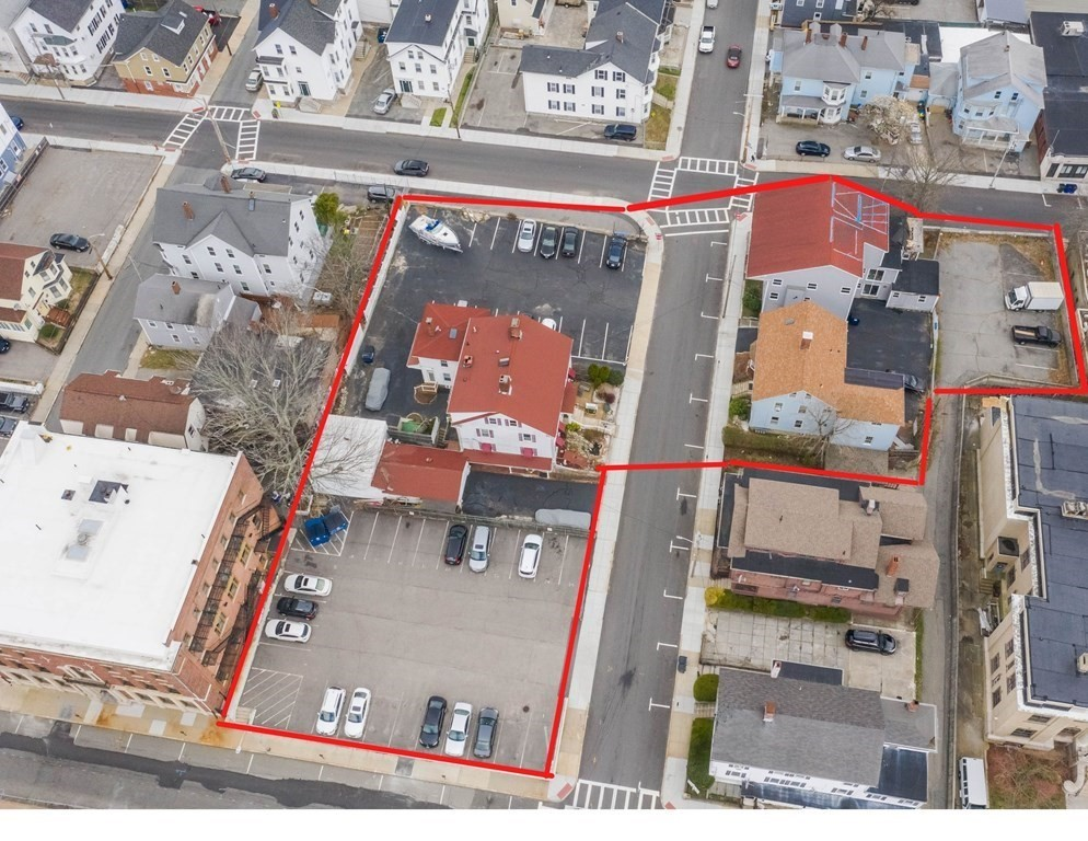 Developer's dream in the heart of downtown Fall River. This opportunity has so much potential. This package consists of 3 well-maintained buildings, a garage, and two parking lots. 270 Bank Street has 12 units and a garage. 275 Bank Street has 4 one-bedroom units, 284 Bank Street is vacant land. (Please note, awaiting current tax information, book, and page numbers)