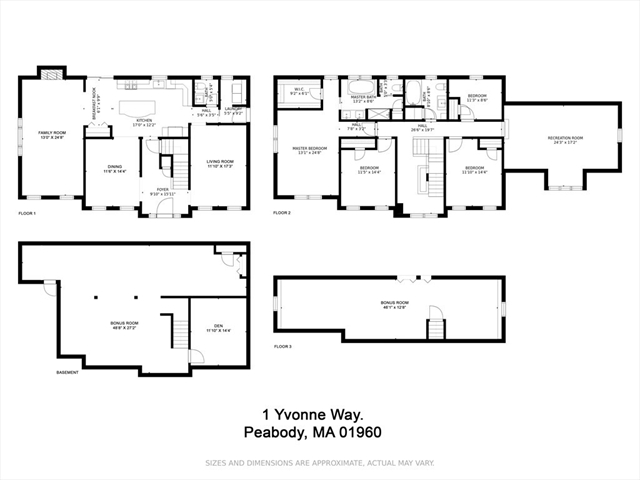 1 Yvonne Way Peabody MA 01960