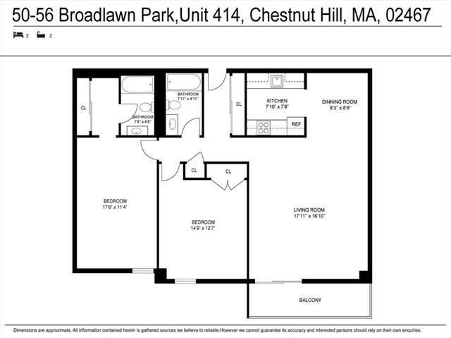 50 Broadlawn Park Boston MA 02132