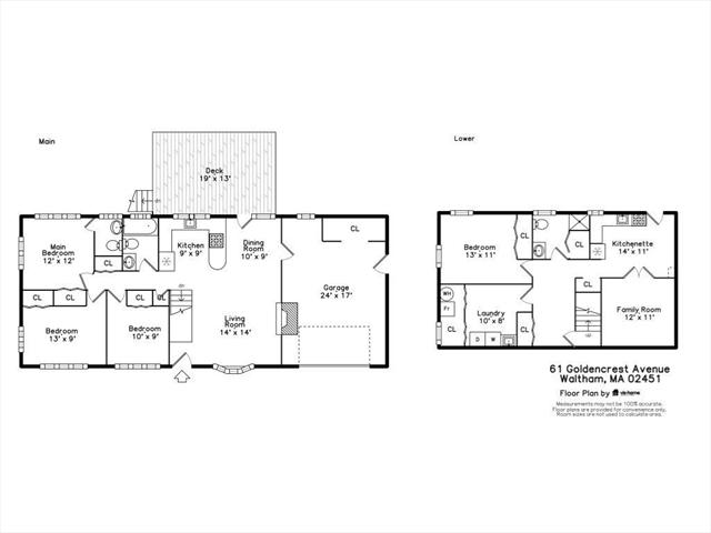 61 Goldencrest Avenue Waltham MA 02451