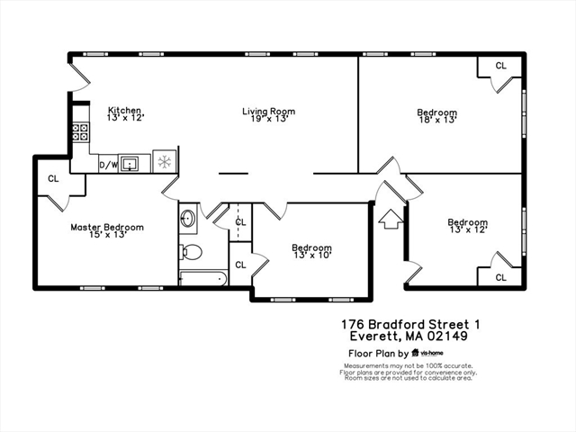 176 Bradford Street Everett MA 02149