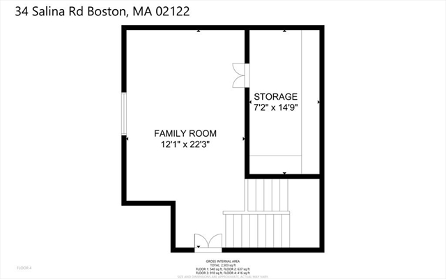 34 Salina Road Boston MA 02122