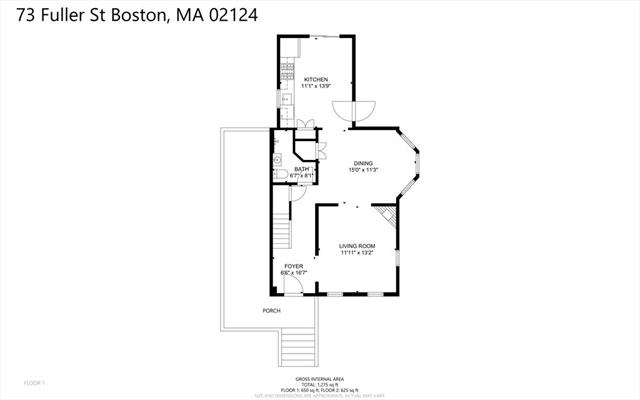 73 Fuller Street Boston MA 02124