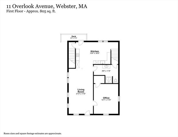 11 Overlook Avenue Webster MA 01570