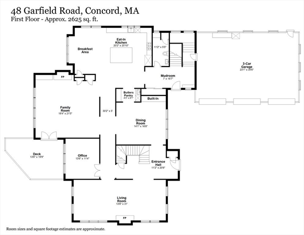 48 Garfield Road Concord MA 01742