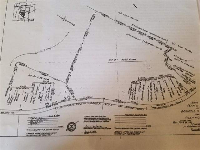 Lot B Apple Road Brimfield MA 01010
