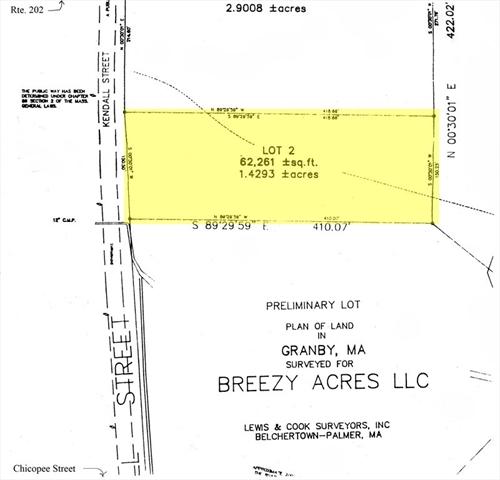 Lot 2 Kendall Street Granby MA 01033