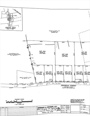 Lot 224 Franklin Street Belchertown MA 01007
