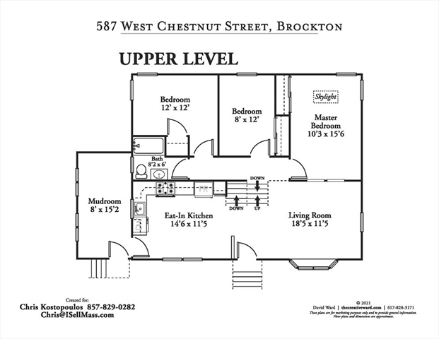 587 W Chestnut Street Brockton MA 02301