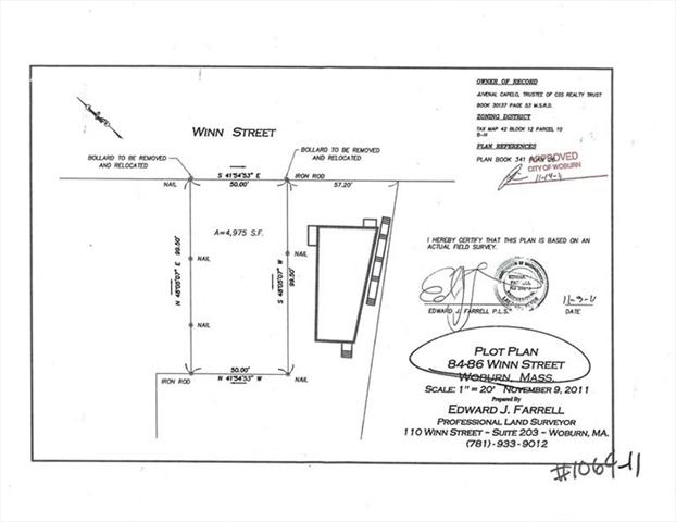 84 WINN Street Woburn MA 01801