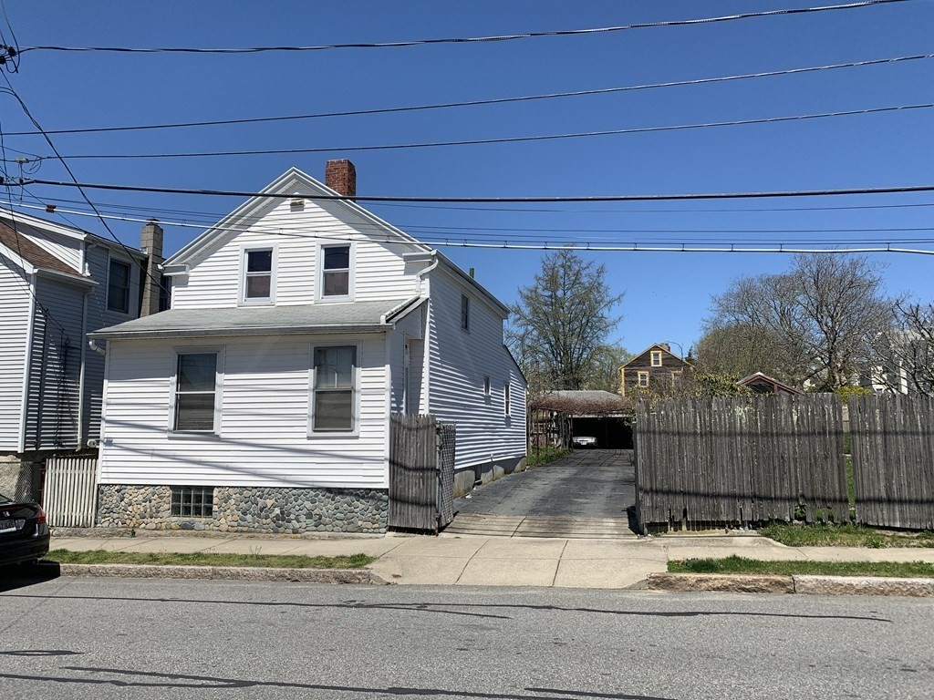 Affordable 3 bedroom cottage with 1 1/2 baths. Large yard, long driveway leading to a large garage, workshop combination. Ideal for a handy person, or small contractor. House needs work.