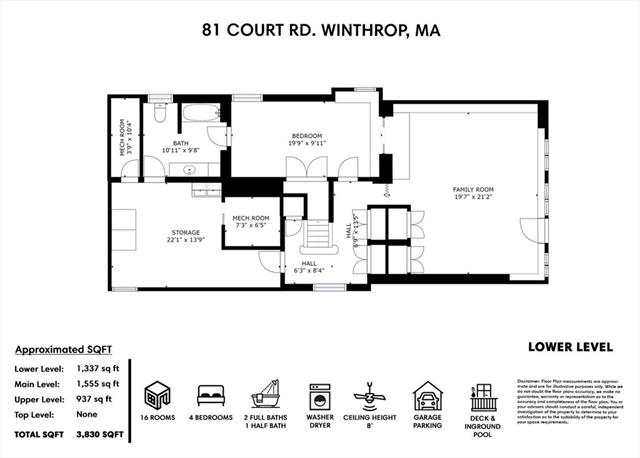 81 Court Road Winthrop MA 02152