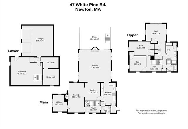 47 White Pine Road Newton MA 02464