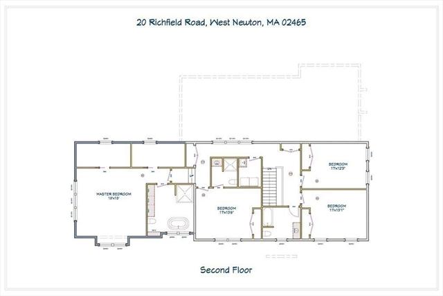 20 Richfield Road Newton MA 02465