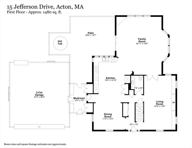 15 Jefferson Drive Acton MA 01720