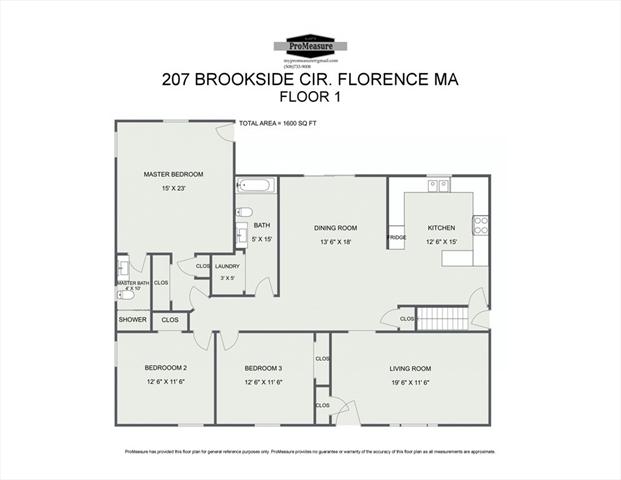 207 Brookside Circle Northampton MA 01062