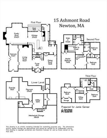 15 Ashmont Road Newton MA 02468