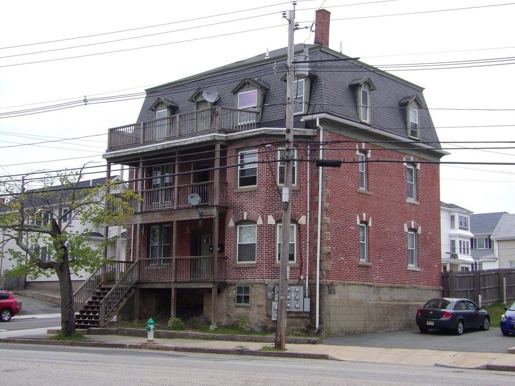 Great opportunity to own this 7 unit brick building. All 1 bedroom units. Very Low maintenance. All great tenants. Seller is relocating. Property being sold in as is condition. Possible room for 8 car off street parking. Corner lot in great area. Don't miss out on this one.