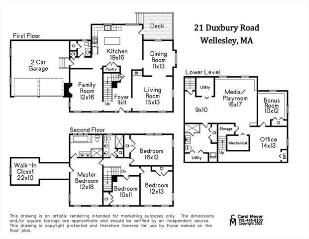 21 Duxbury Road Wellesley MA 02481