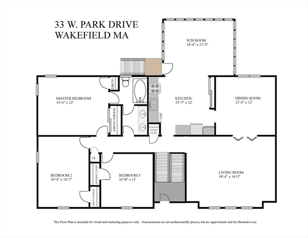 33 West Park Drive Wakefield MA 01880