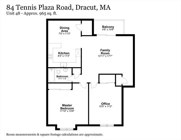 84 Tennis Plaza Dracut MA 01826