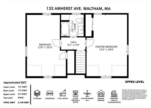 133 Amherst Avenue Waltham MA 02451