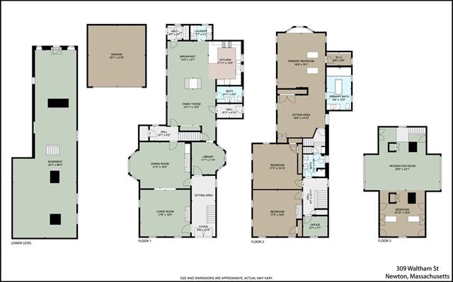 309 Waltham Street Newton MA 02465