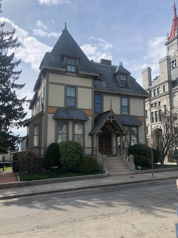 Gorgeous historic home designed by Hartwell and Sweezy on corner lot.  4 spacious apartments with solid rental history but could easily be converted back to a single family. Stunning period details throughout home.  Off street parking for 10+ cars. Tenants in place, at least 24 hour notice for showings