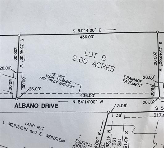 Lot B Albano Drive Blandford MA 01008
