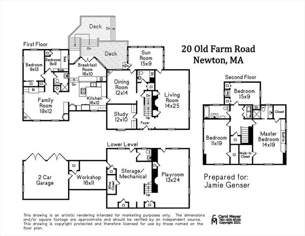 20 Old Farm Road Newton MA 02459
