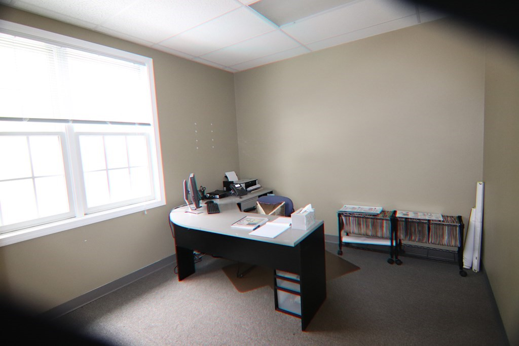 Too many distractions working from home? Available for IMMEDIATE OCCUPANCY This conveniently located office building has 5 Individual office spaces for rent from $450-650 per month including heat, AC, and electricity. Price includes a shared kitchen area and bathrooms. This building offers a large foyer with seating for clients while they wait.  Perfect for professionals or those who need a private quiet space away from home to work. Other spaces available please inquire.