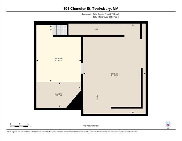 191 Chandler Street Tewksbury MA 01876