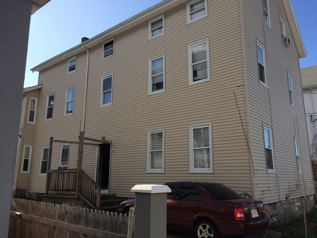5 Fully rented units in desirable North end location of Fall River. 1 min to most major highways and minutes to new FR T station. Below market rents due to long term tenants. Finished attic for extra storage. Separate utilities and maintenance free exterior.