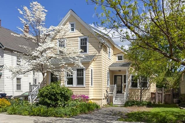 17 Hubbard Avenue Cambridge MA 02140