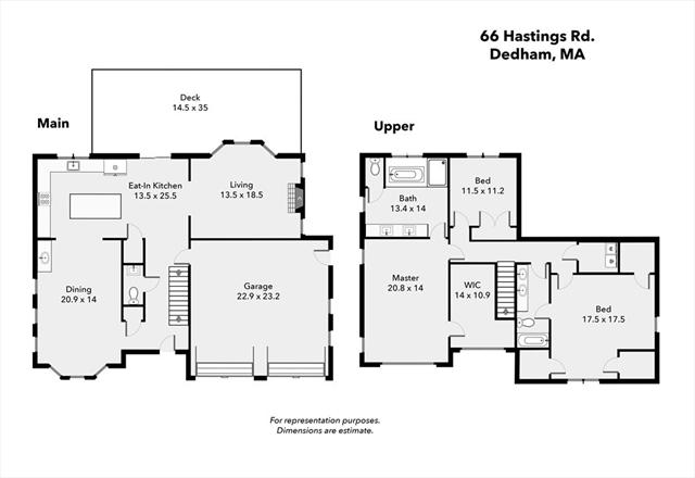 66 Hastings Road Dedham MA 02026