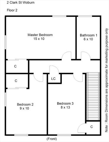 2-4 Clark Street Woburn MA 01801