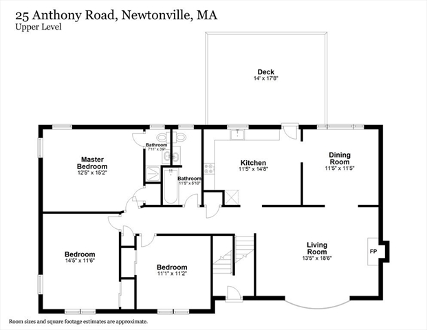 25 Anthony Road Newton MA 02460