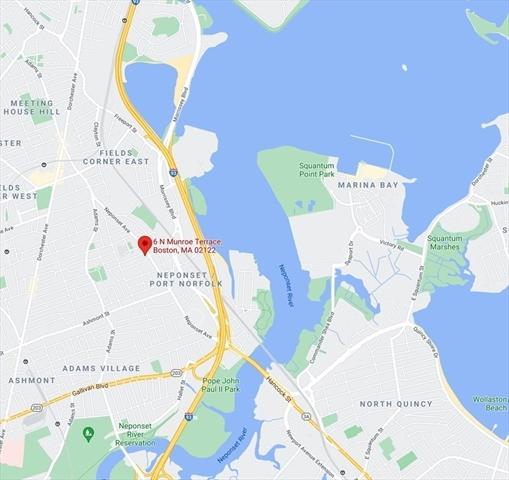 6 North MUNROE Boston MA 02122