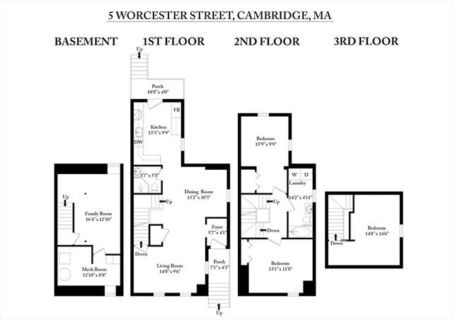 5 Worcester Street Cambridge MA 02139