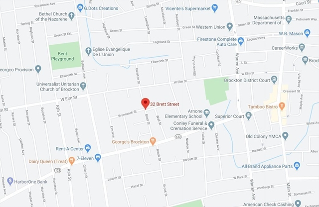 23 Brett Street Brockton MA 02301