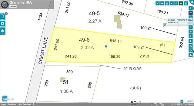 28 Crest Lane Granville MA 01034