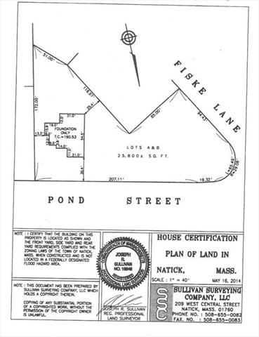 216 Pond Street Natick MA 1760