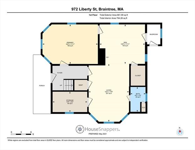 972 Liberty Street Braintree MA 02184