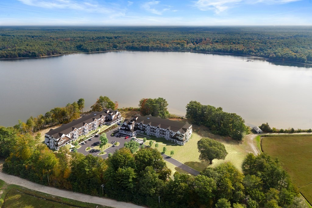 Welcome Home to Lake Point Village, Extraordinary 55 plus community, you'll be pressed to find another location as serene and unique on the South Shore. Beautifully crafted with a piece of Cape Cod in mind. Maintenance free, single level living surrounded by sweeping views whether of Lake Pocksha, acres of Cranberry Bogs or Nature's own Landscape there isn't a bad view to be found here! Several models to choose from ranging from 1,285 sq. ft. to 1,485 sq. ft. Each 2 bedrooms w/ walk-in closets, barn style doors and private baths, den/office and laundry room. Open concept kitchen & living room also takes advantage of the amazing views with sliders to your private balcony. Kitchen features shaker style cabinets, GE Profile stainless steel appliances; farmers sink and granite countertops. Within minutes to the commuter rail, less than 1 hour to Boston or RI. Conveniently located near area amenities such as golfing, restaurants and shops making this a truly fabulous location to live!