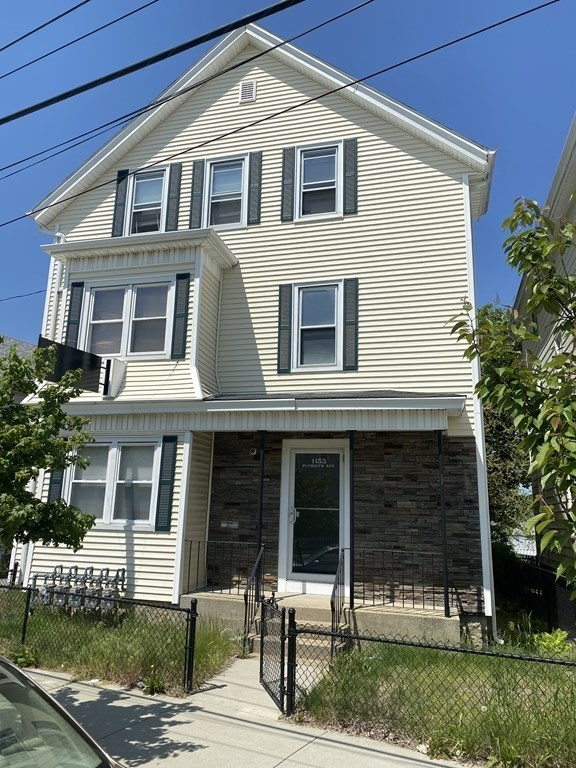 Must see 4 Family, First floor can be used as for local business or Apartment.  2 car garage with electric and heat, 3 apartments for additional income all metered separately.  2-2beds and one 3 bed townhouse.  Property is in very good condition..