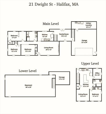 21 Dwight Street Halifax MA 02338