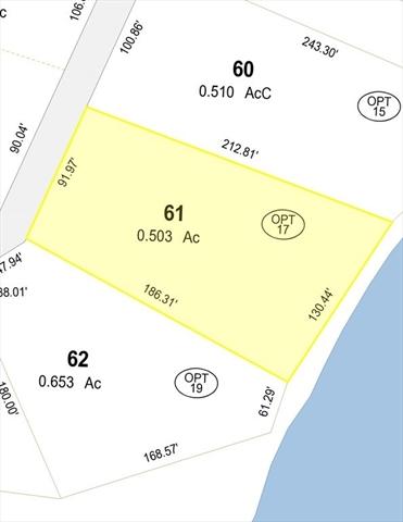 Lot 17 Otter Pond Trail Tolland MA 01034