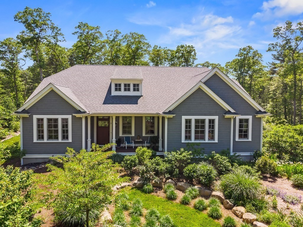 This Executive Ranch is located on a private 2.96 acre lot with lush landscaping, natural stone hardscaping, bluestone patio and a custom fire pit. This home features an open floor plan with 9' and 10' ceilings throughout. The living room is highlighted by the gas fireplace, which is flanked by built-in cabinets. The kitchen is brimming with high end finishes such as custom cabinetry, quartz countertops, a Wolf gas cooktop, convection wall oven and steam/convection wall oven, Bosch dishwasher, KitchenAid SS refrigerator and a built-in beverage cooler. The master suite is spacious and includes coffered ceilings, a double door entry to the master bath, upgraded tile, crown molding, a walk-in shower, soaking tub, and a large walk-in closet. 2 additional bedrooms, a office/den, laundry room, and dining room finish off the main living space. The basement has 2 finished rooms and all the storage space that you can ask for. Move right in and enjoy everything that South Westport has to offer.