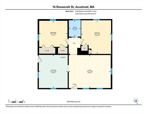 16 Roosevelt Street Acushnet MA 02743