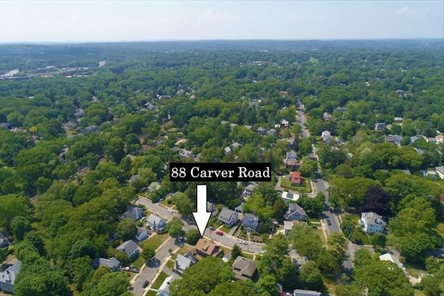 88 Carver Road Newton MA 02461